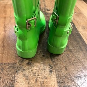 Coach Shoes - Coach  Lori Green Rain Boots